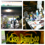 Shout-out to Ackee Bamboo not only for the good food and good prices, but for letting us spread the Wisdom at their restaurant in Leimert Park!
