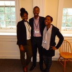 Shout-out to Zoey, Toshe, and Phillip, all three 2013 WFTF Sankofa Scholars!