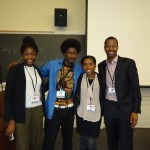 Be Wise and all three 2013 WFTF Sankofa Scholars at the 2014 Blacktivism Conference