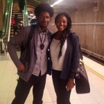 Ran into a 2013 Sankofa Scholar on the train!
