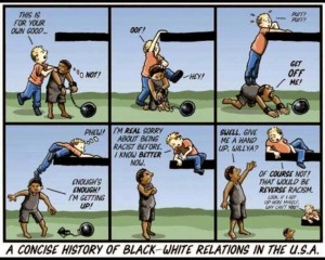 a concise history of racism in USA